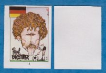West Germany Paul Breitner Bayern Munich 13